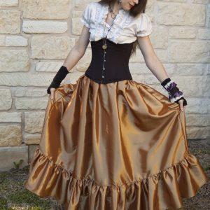 Steampunk Ruffle Skirts