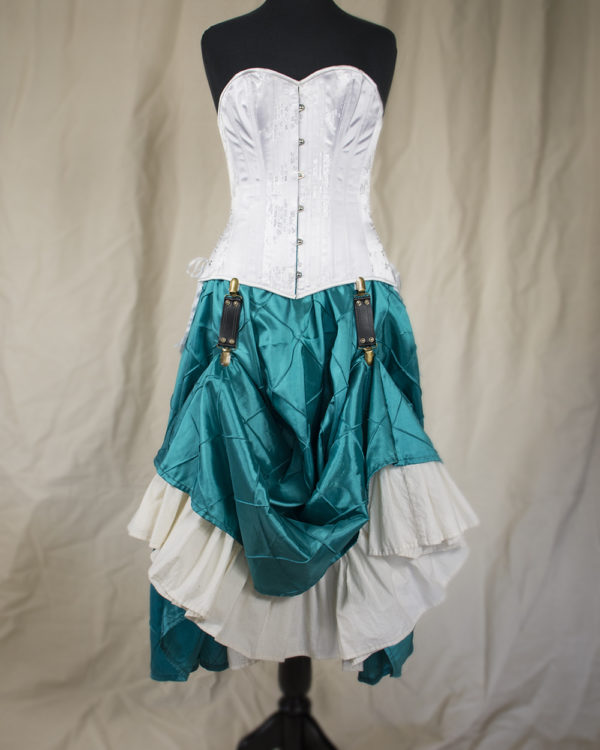 Steampunk Skirt Hikes Brass Clips